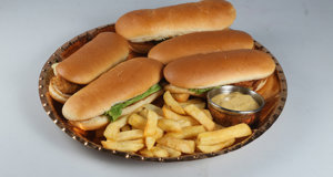 Chicken Tender Sandwiches Recipe | Masala Mornings