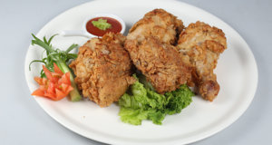 Crispy Chicken Broast Recipe | Lazzat