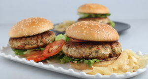 VEGETABLE AND CHICKEN BURGERS Recipe
